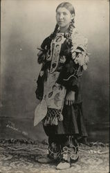 Portrait of Native American Woman