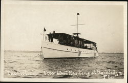 The Victoria Boat, President Elect Harding