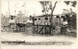 The Kitchen, Chestnut Billy's Indian Camp, Tamiami Trail