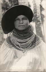 Seminole Indian Woman
