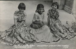 Seminole Indian Girls, Brighton Indian Day School
