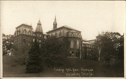 College Hall from Campus, Wellesley College