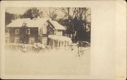 Cottage in Snow, Silvermine River