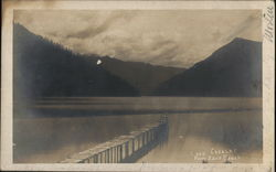 Lake Crescent from East Beach.