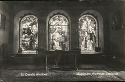 St. Cecelia Windows, Mission Inn