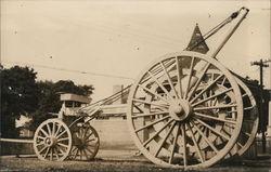 Jumbo Galamander Stone Wagon