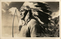 Chief Cain Screamer, Cherokee Indian Reservation