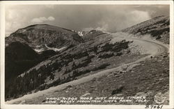 Trail Ridge Road Just Above Timber Line