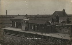 Uphill Station Postcard