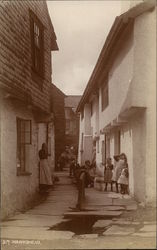 Hawkshead Alley Postcard