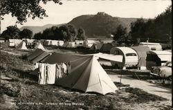 Camping Below Rheineck Castle