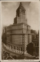 Standard Oil Building & Lower Broadway Canyon Postcard