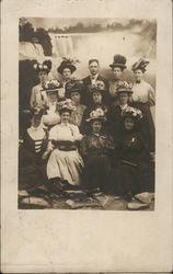 Group of Women in Fancy Hats, 1908