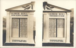 Memorial to US Armed Forces Members Honor Roll