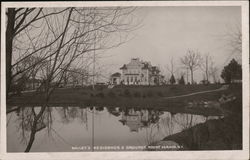 Bailey's Residence and Grounds Postcard