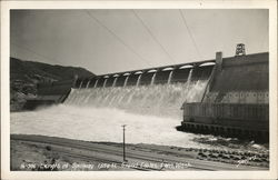 Spillway, Length 1650 Feet, Grand Coulee Dam