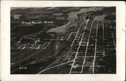 Aerial View of Grand Rapids