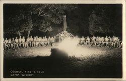Council Fire Circle, Camp Wisdom