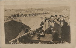 President Taft Opening the Gunnison Tunnel
