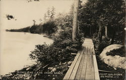 Along the Lake Shore Walk, Camp Waldheim