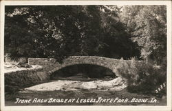 Stone Arch Bridge at Ledges State Park