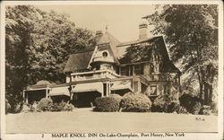 Maple Knoll Inn, On Lake Champlain