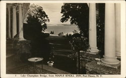 Lake Champlain Bridge, from Maple Knoll Inn