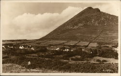 Town of Dugort and Mount Slievemore