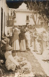 Taxco Residents on Street