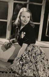 Ann Todd Hand Signed Photo