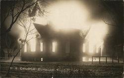 M.E. Church Burning