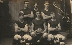 Basketball Team, Marionville College 1908-1909