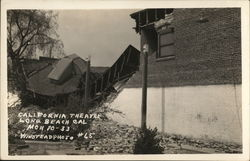 California Theatre, After Earthquake