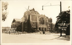 St. Anthony Church Damaged by Earthquake, 3/10/33
