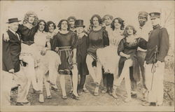 Male University Students Dressed in Drag, Theater
