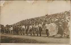 Parade In Front of Grandstands, University of Missouri