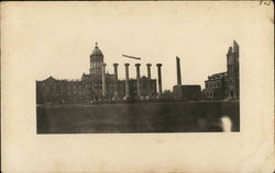 Six Columns on Campus Square, University of Missouri Postcard