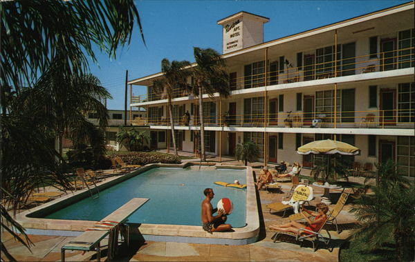 Riviera Apartment Motel Clearwater Beach Florida