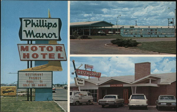 Phillips Manor Motel & Raney's Restaurant Dumas Texas