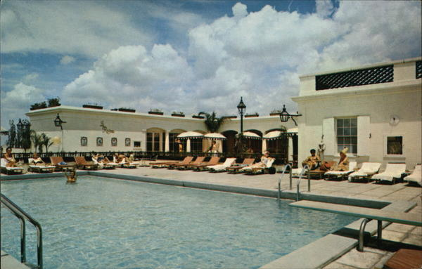 Rooftop Pool, Royal Orleans Hotel New Orleans Louisiana