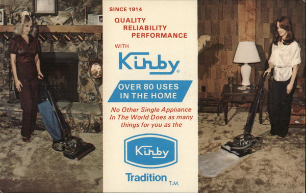 Kirby Vacuum, Kirby Co. of Rice Lake Wisconsin