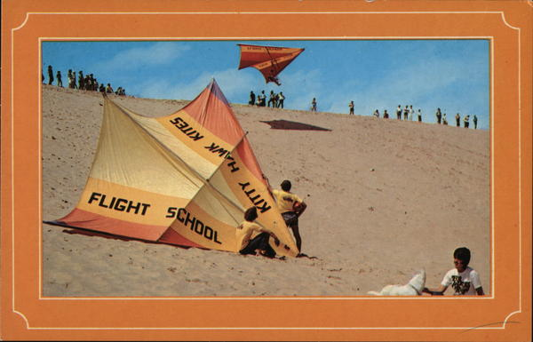 Jockey's Ridge - Hang Gliding Outer Banks North Carolina
