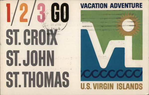 1/2/3 Go: St. Croix, St. John, St. Thomas Virgin Islands