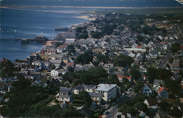 Picturesque Provincetown Massachusetts
