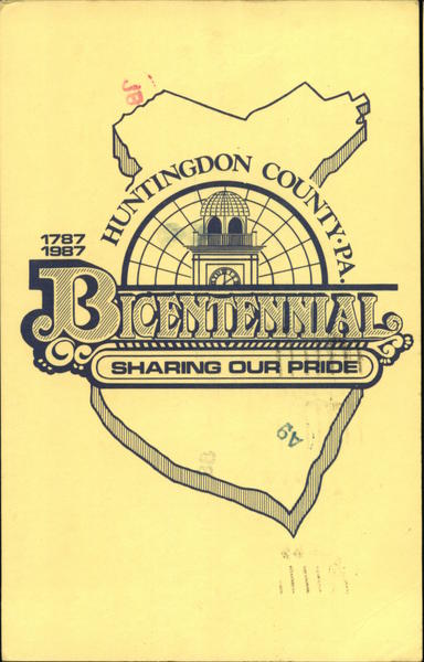 Huntingdon County, PA Bicentennial