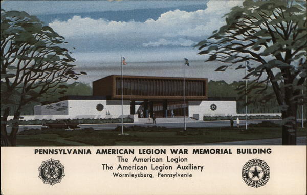 Pennsylvania American Legion War Memorial Building Wormleysburg