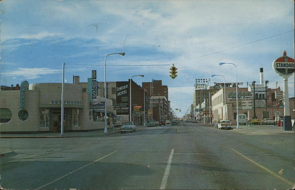 1st Avenue No., Looking West Billings Montana