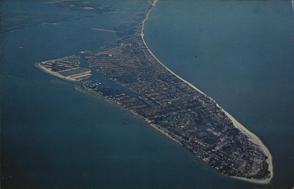 Aerial View of Anna Maria Island Florida