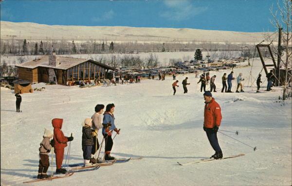 Canada Happy Valley Calgary Alberta / HipPostcard