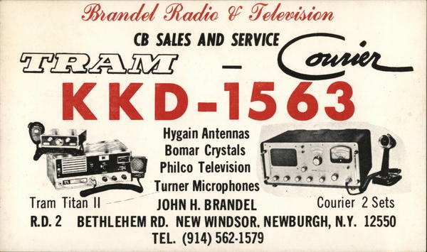 Branded Radio & Television - CB Sales and Service Newburgh New York